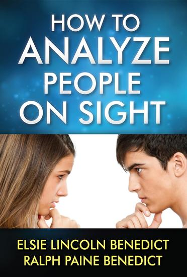 How to Analyze People on Sight - cover
