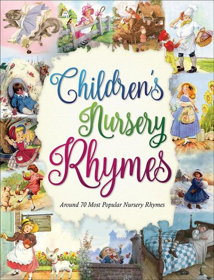 Children's Nursery Rhymes - 70 most popular nursery rhymes - cover