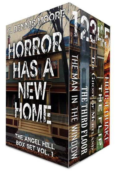 HORROR HAS A NEW HOME: the Angel Hill box set - cover