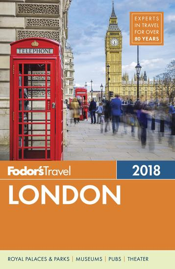 Fodor's London 2018 - cover