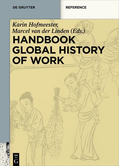 Handbook Global History of Work - cover