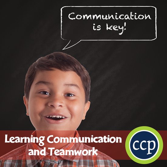 21st Century Skills - Learning Communication & Teamwork Gr 3-8+ - cover