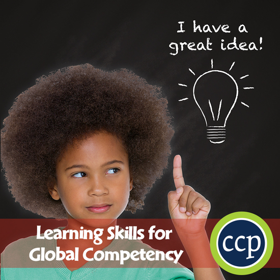 21st Century Skills - Learning Skills for Global Competency Gr 3-8+ - cover