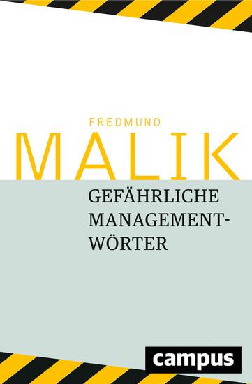 Gefährliche Managementwörter - cover