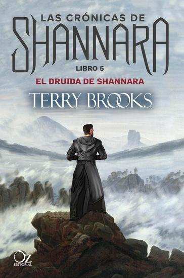 El druida de Shannara - Las crónicas de Shannara - Libro 5 - cover
