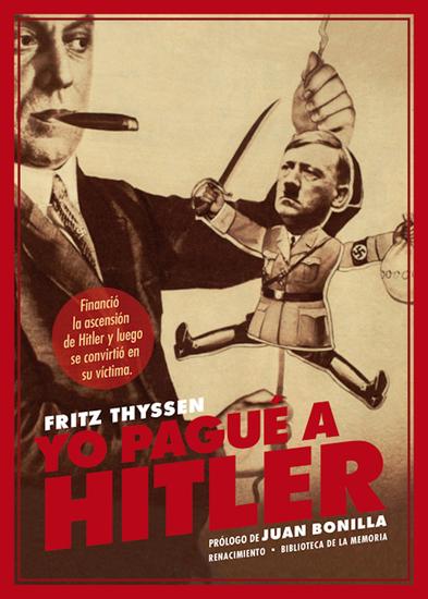 Yo pagué a Hitler - cover
