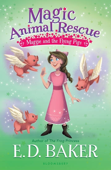 Magic Animal Rescue 4: Maggie and the Flying Pigs - cover