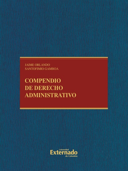 Compendio de derecho administrativo - cover