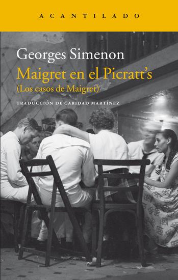 Maigret en el Picratt's - (Los casos de Maigret) - cover
