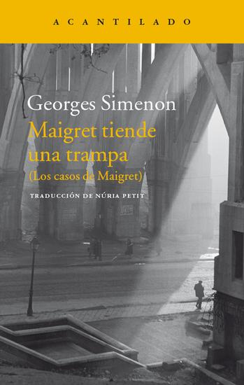 Maigret tiende una trampa - (Los casos de Maigret) - cover