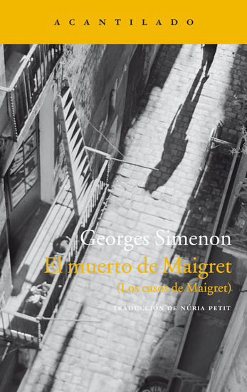 El muerto de Maigret - (Los casos de Maigret) - cover