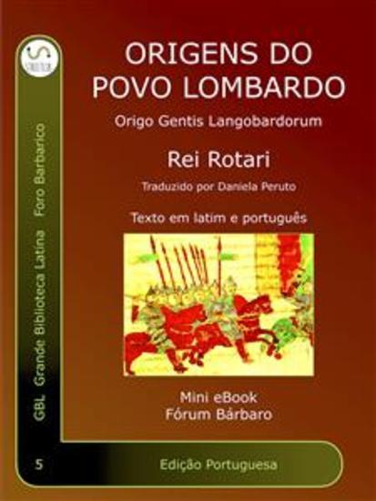ORIGO Gentis Langobardorum - Origens do povo Lombardo - cover