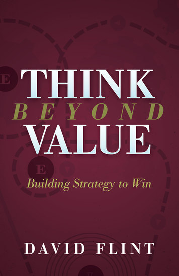 Think Beyond Value - Building Strategy to Win - cover