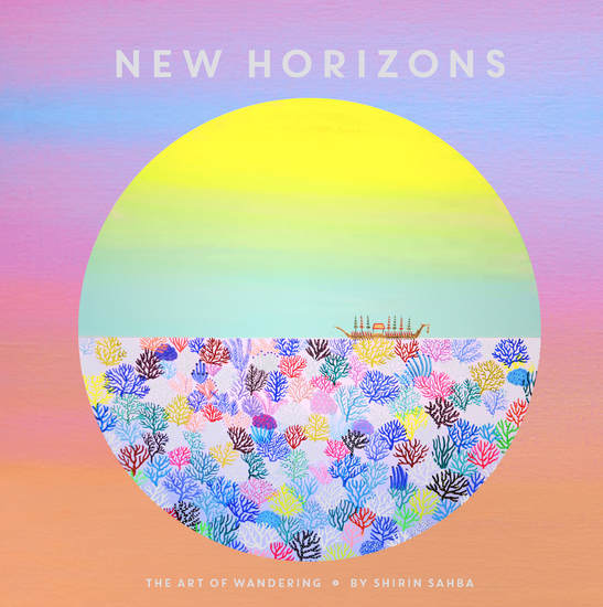 New Horizons - The Art of Wandering - cover