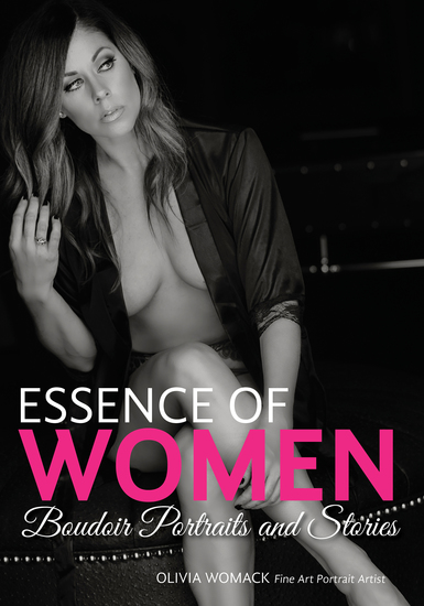 Essence of Women - Boudoir Portraits and Stories - cover