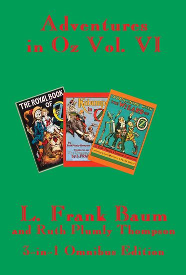 Adventures in Oz - Vol VI - cover