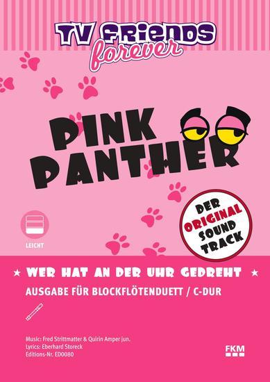 "Wer hat an der Uhr gedreht? - Title song of TV-animation ""Pink Panther"" ""Der rosarote Panther"" - cover"