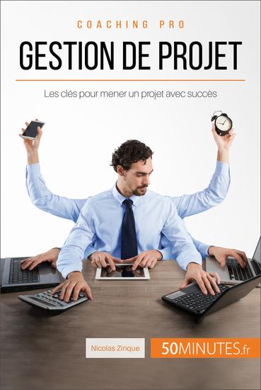 Gestion de projet - Les clés pour mener un projet avec succès - cover