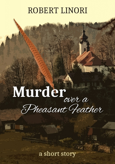 Murder over a Pheasant Feather - cover