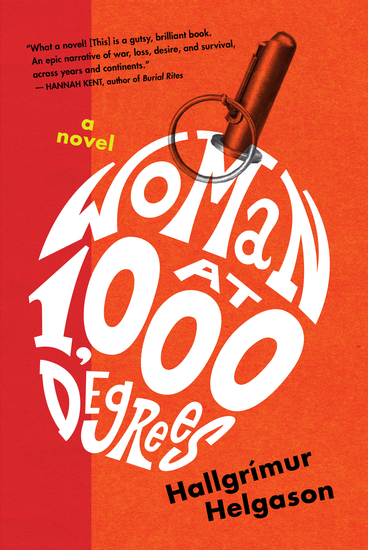 Woman at 1000 Degrees - A Novel - cover