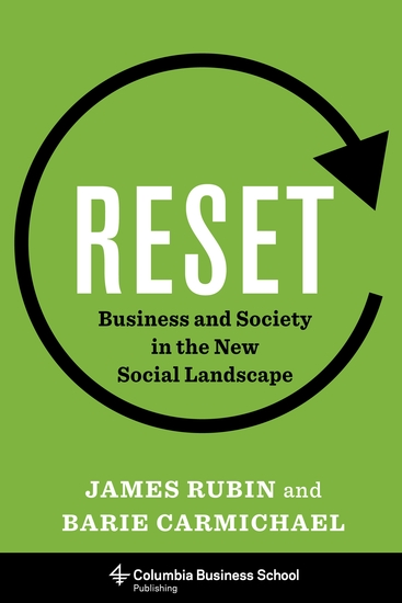 Reset - Business and Society in the New Social Landscape - cover