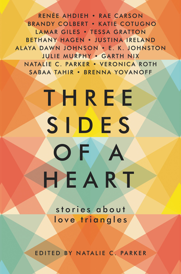 Three Sides of a Heart: Stories About Love Triangles - cover