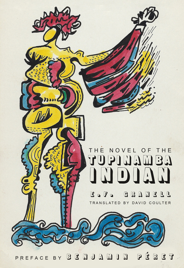 The Novel of the Tupinamba Indian - cover
