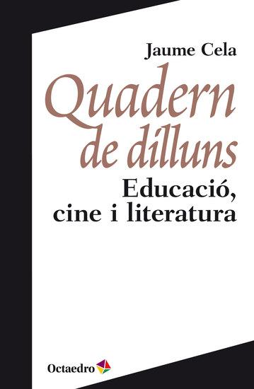 Quadern de dilluns - Educació cine i literatura - cover