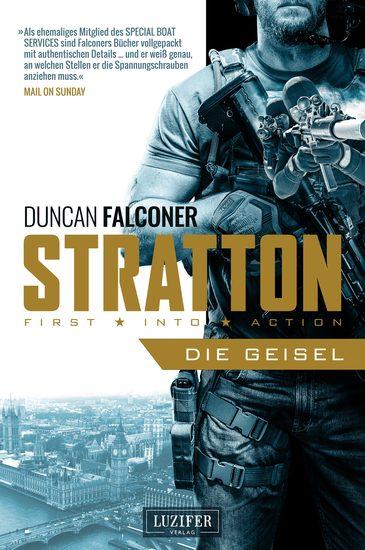 STRATTON: DIE GEISEL - Thriller - cover