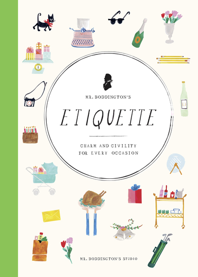 Mr Boddington's Etiquette - Charm and Civility for Every Occasion - cover