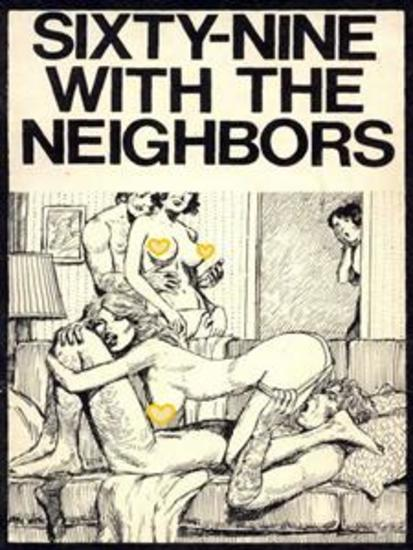 Sixty-Nine With The Neighbors - Adult Erotica - cover