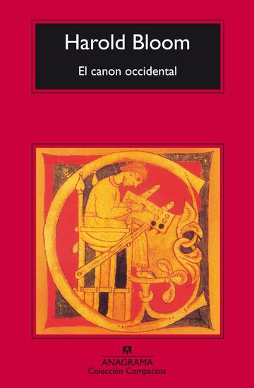 El canon occidental - cover