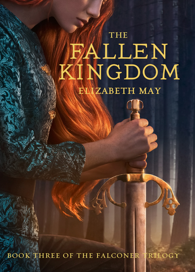 The Fallen Kingdom - Book Three of the Falconer Trilogy - cover