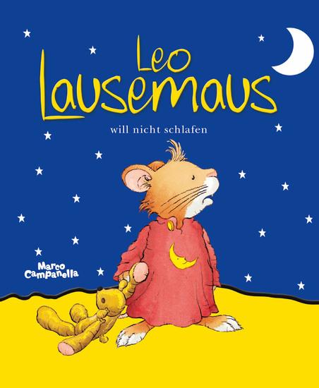 Leo Lausemaus will nicht schlafen - cover