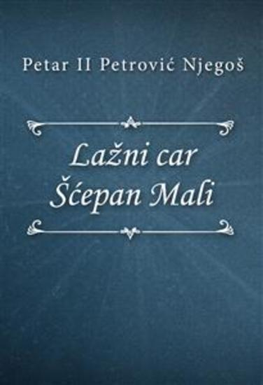 Lažni car Šćepan Mali - cover