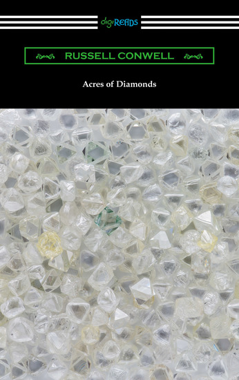 Acres of Diamonds (with a biography of the author by Robert Shackleton) - cover