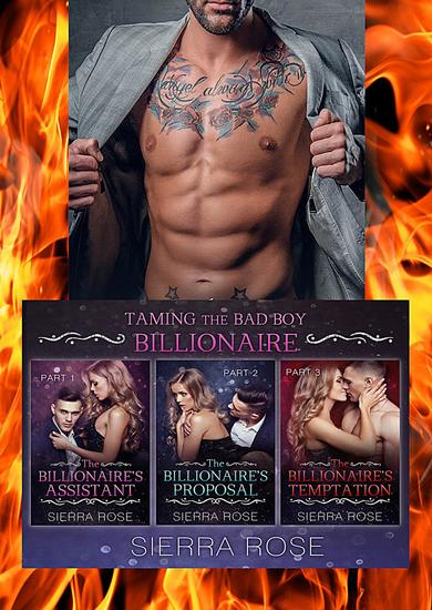 Taming The Bad Boy Billionaire Three Book Bundle - cover