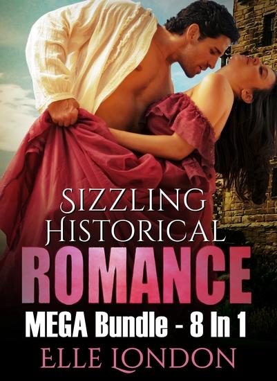 Sizzling Historical Romance MEGA Bundle - 8 In 1 - cover