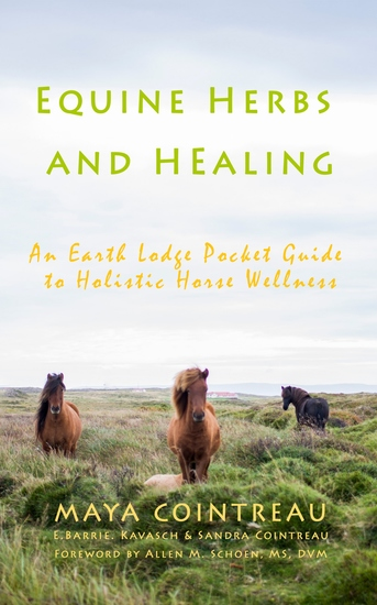 Equine Herbs and Healing - An Earth Lodge Pocket Guide to Holistic Horse Wellness - cover