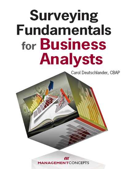 Surveying Fundamentals for Business Analysts - cover