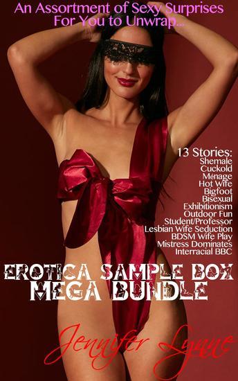 Erotica Sample Box Mega Bundle: 13 Stories - Sample box #1 - cover