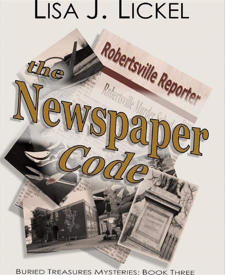 The Newspaper Code - Buried Treasure Mysteries - cover