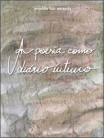 A poesia como diário íntimo - cover