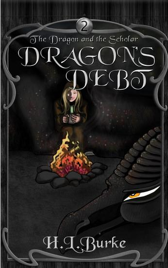 Dragon's Debt - The Dragon and the Scholar #2 - cover