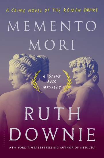 Memento Mori - A Crime Novel of the Roman Empire - cover