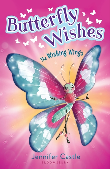 Butterfly Wishes 1: The Wishing Wings - cover