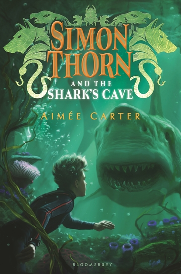Simon Thorn and the Shark's Cave - cover