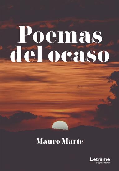 Poemas del ocaso - cover