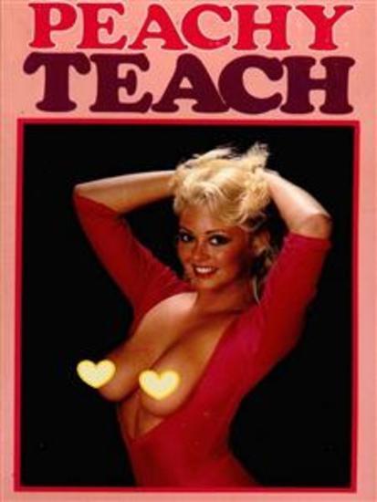 A Peachy Teach (Vintage Erotic Novel) - cover