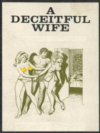A Deceitful Wife (Vintage Erotic Novel) - cover